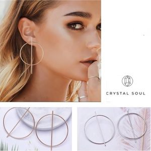 🎉Exaggerated Big Circle Earrings